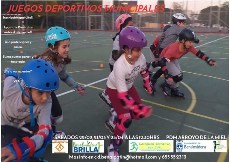 Juegos Deportivos Municipales de Patinaje, Benálmadena 2020.