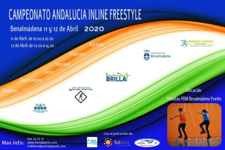 CAMPEONATO ANDALUCIA INLINE FREESTYLE 2020