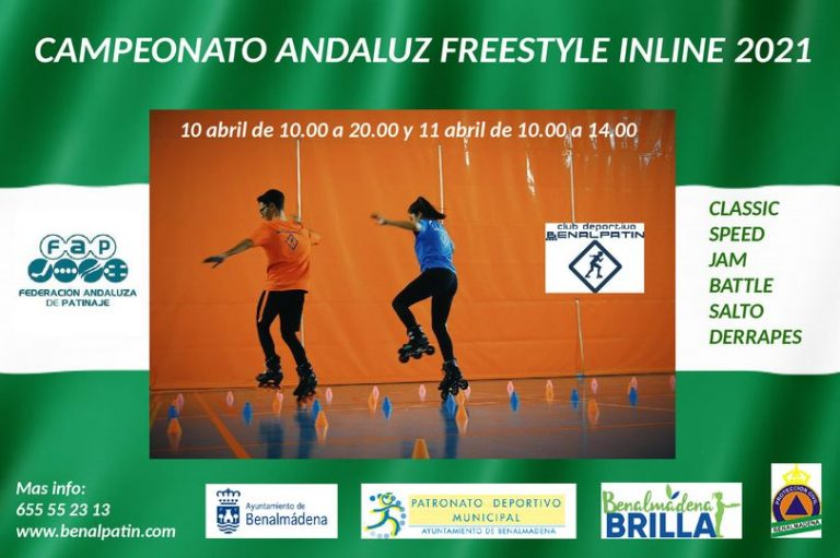 Campeonato Andaluz Freestyle Inline 2021.